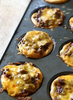 BBQ Sloppy Joe Muffins..so easy and a family dinner favorite!!