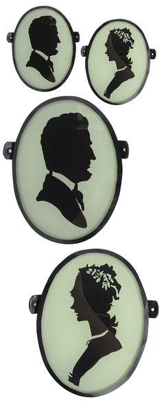 Featuring the silhouettes of Honest Abe and Mary Todd, our Chit Chat Cameo Plaques speak volumes without uttering a peep—or do they? If only walls could talk. A real conversation starter, from the gall...  Find the Chit Chat Cameo Plaques - Set of 2, as seen in the A Romantic Modern Escape Collection at http://dotandbo.com/collections/a-romantic-modern-escape?utm_source=pinterest&utm_medium=organic&db_sku=120385