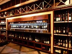 The Wine Room showcases over 148 hand-selected wines.