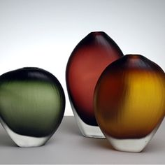 burgess vases that you just want to touch!