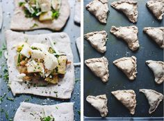 Making this tomorrow... but instead of apples making butternut squash, onions, sage, and gruyere mini calzones
