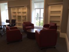 Nashville Public Library (Nashville, TN) Mobile Swift lounge seating and table in collaborative/open space. #NationalOffice #FurnitureWithPersonality