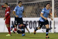 Uruguai goleia Jordânia e caminha para classificação à Copa | #Brasil, #Celeste, #Classificação, #Copa, #Copa2014, #CopaDoMundo, #Eliminatórias, #FIFA, #Futebol, #Goleada, #Jordânia, #Mundial, #RafaelSouza, #Repescagem, #Seleção, #Uruguai