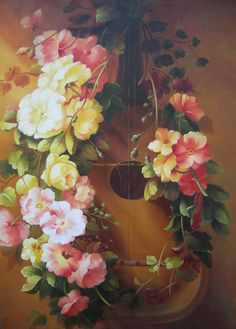 flowers painted - Yahoo Image Search Results