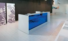 Alea Eos Reception Desk- Show your love for design, make a great first impression with your customers.