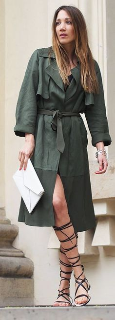 Trench And Gladiators Styling