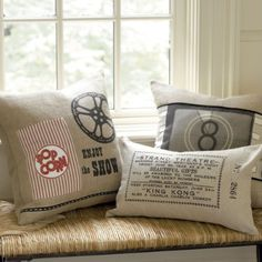home theater pillows!
