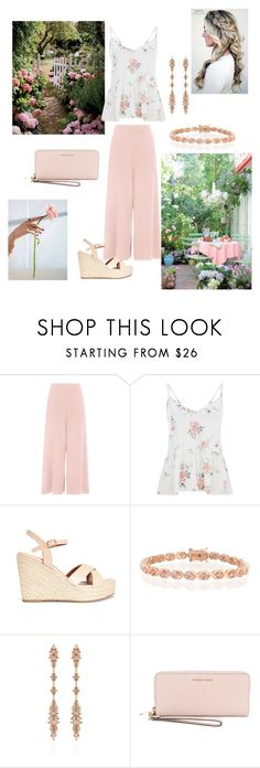 """Garden Dinner Party"" by curly3996 ❤ liked on Polyvore featuring Bling Jewelry, Fernando Jorge and MICHAEL Michael Kors"