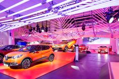 """L'Atelier Renault is giving visitors an opportunity to experience the cars of the future through an exhibition on the theme of design. """"Color Manifesto"""" brings together the six concept cars expressing the renewal of the #Renault #design. COLOR MANIFESTO from October 19, 2013 to January 19, 2014 at L'Atelier Renault on the Champs-Elysées in Paris. (c) OMG - Droits réservés Renault"""