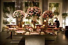 decoração mesa de casamento - Pesquisa Google