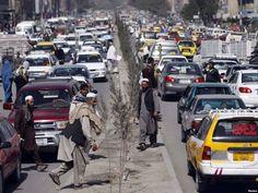 a street in Afghanistan