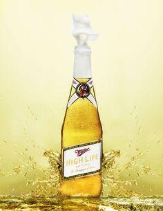 Beverage Portfolio by Justin Sicard, via Behance