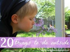20 ways to get outside and enjoy Spring