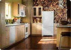 Amana 21.9 cu. ft. capacity Bottom Freezer Refrigerator.