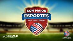 O cronista esportivo #marcoburigo apresenta as principais novidades no #sommaioresportes. Confira o placar dos #jogos, curiosidades e notícias na voz de quem entende do assunto.