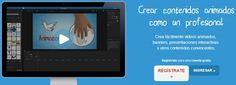 Moovly es una completa aplicación para crear animaciones fácilmente y sin necesidad de ser un experto en el tema.