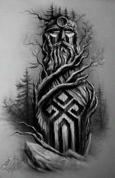 Images of viking tattoos – Tattoo 2020 Tattoos 3d, Kunst Tattoos, Unique Tattoos, Body Art Tattoos, Sleeve Tattoos, Cool Tattoos, Bear Tattoos, Slavic Tattoo, Norse Tattoo