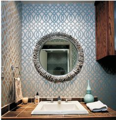 DIY Claudia Lattice Wall Damask Old world Allover by bluedoor17, $34.00