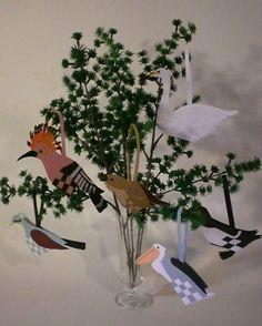 Jule fugle flettede - www.lottedesign.dk