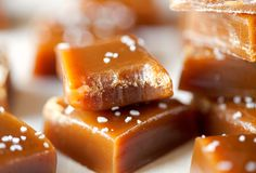 Chewy Salted Caramels