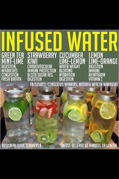 This Delicious Fruit Infused Water Recipes Will Help You Lose Weight And Detoxify Your Body! fruit recipes weight loss health wellness viral viral right now viral posts Infused Water Recipes, Fruit Infused Water, Infused Waters, Flavored Waters, Detox Drinks, Healthy Drinks, Healthy Recipes, Healthy Water, Drink Recipes