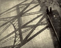 Paul Stand   From the viaduct, 125th Street, New York, 1916