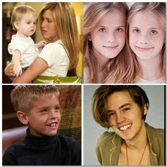 Friends Emma Greene Geller played by Cali and Nolee Sheldon and Ben Wilicks Geller played by Cole Sprouse
