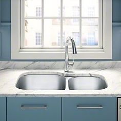 13 Best Kitchen Sinks And Faucets Images Kitchen Sink Double Bowl