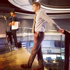 "David  Harewood (@davidharewood) on Instagram: ""Flair Jordan. @jeremymjordan"" #SupergirlCW"