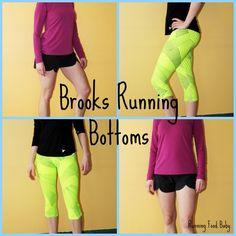 Brooks Running Bottoms #RunHappy