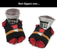 Black Knight Slippers