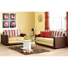 Sectional Sleeper Sofa Buy Sofa Set in Moshi brown Online in India at home