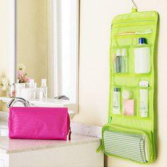 Travel Portable Toiletry Organizer Bag