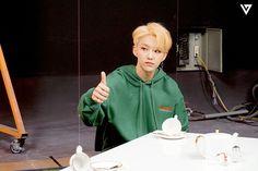 Starcast Seventeen Leader Line - Change Up MV Behind Seventeen Leader, Hoshi Seventeen, Seventeen Album, Mingyu Wonwoo, Seungkwan, Seventeen Comeback, Star In Japanese, Carat Seventeen, Pledis 17