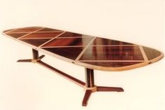 Bespoke Wooden Low Table for Home Interior Furniture Design Ideas by Sean Feeney - Cocobolo and Sycamore