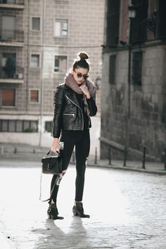 Alexandra Pereira #streetstyle #Madrid #2016