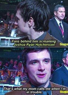 His. Name. Is. Josh. Ryan.    @Sammy Roberts @Kyli Pierce I'm done with life. How didn't we know this.