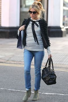 Get Sienna Miller's maternity style with mama.licious hot slim jeggings   USA : http://www.justmaternityjeans.com/usa/bestselling-maternity-jeans  UK: http://www.justmaternityjeans.com/uk/hot-slim-maternity-jeans