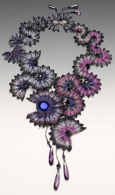 Necklace | Hatsumi Oshitani. 'Butterfly Ruffles' @Katie Smith - thought you might like this