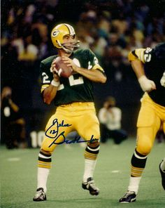 Zeke Bratkowski...once the backup to Bart Starr as a Packer. Met him in 1968 at my high school.