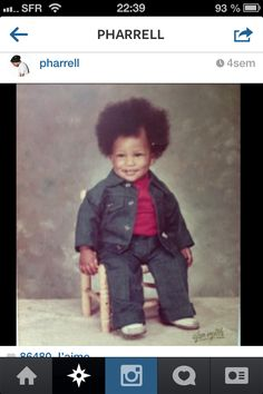 Pharrell, Is That You? The Best of Celebrity Throwback Thursday - Pharrell, Is That You? The Best of Celebrity Throwback Thursday WOW! Celebrity Baby Pictures, Celebrity Babies, Baby Photos, Celebrity Children, Celebrity Style, Pharrell Williams, Throwback Thursday, Virginia Beach, Young Celebrities