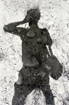 Lee Friedlander. Self-Portrait in Shadow, c. 1970. S)