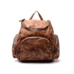 15 in pelle zaino/Student Laptop Backpack/Messenger di nooooin