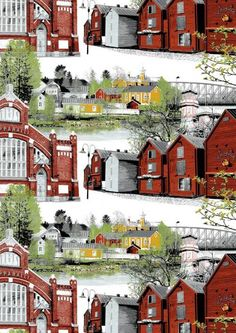 Finland, Cabin, Interior Design, House Styles, City, Painting, Beautiful, Towels, Fabrics