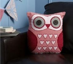 Cushion owl... gonna make this for Chelsea's room