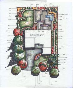COPIC! Adam Vassau Landscape Design/ Renderings