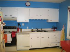 Colorful Retro Kitchen