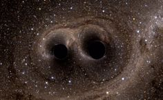The ripples in space-time from two merging black holes have been detected for the first time in history