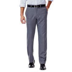Haggar Mens Elco Stretch Slim Fit Plaid Pants, Men's, Size: x Grey Mens Dress Pants, Plaid Pants, Casual Pants, Men's Pants, Joggers, Sweatpants, Stretch Pants, Slim, Man Shop