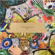 """Briefpapier-Set+""""Frivolites""""+von+Christian+Lacroix+Paris.+6+Karten+mit+Couverts."""